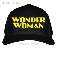 Topi Baseball Wonder Woman 07