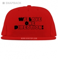 Topi Snapback One Direction 08